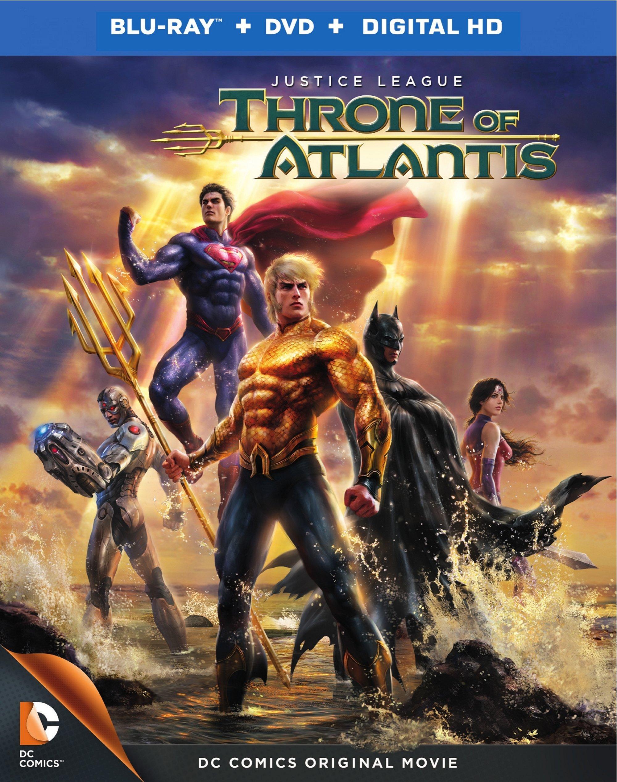Liga da Justiça Trono de Atlântida Legendado